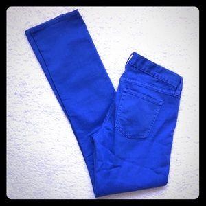 "J. Crew Matchstick ""toothpick"" Jeans 👖"